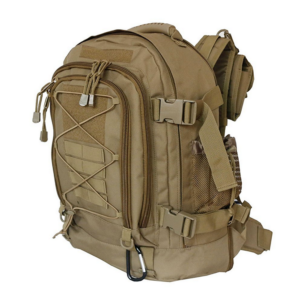 TTBP001HYDBRW Erweiterbarer Rucksack Beige