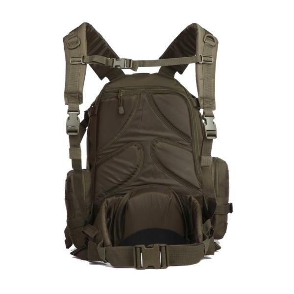 TTBP007LPTOD Tactical Laptop Trekkingrucksack Olivgruen Rücken