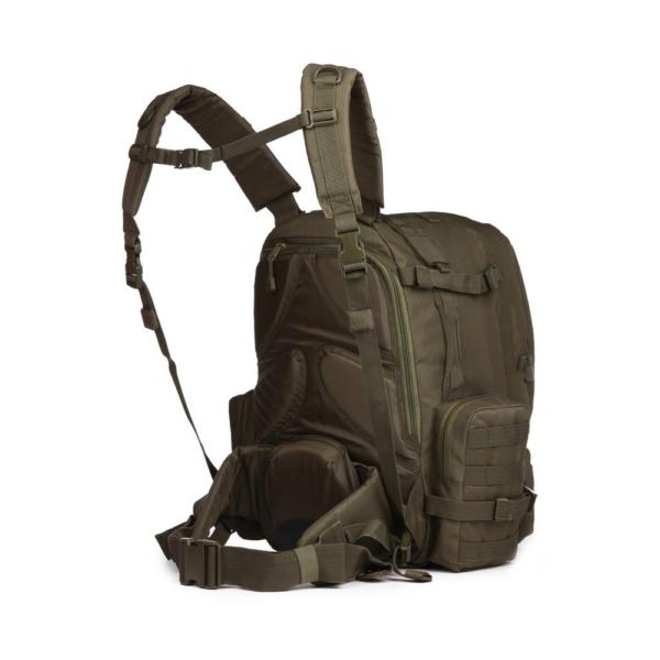 TTBP007LPTOD Tactical Laptop Trekkingrucksack Olivgruen Seite