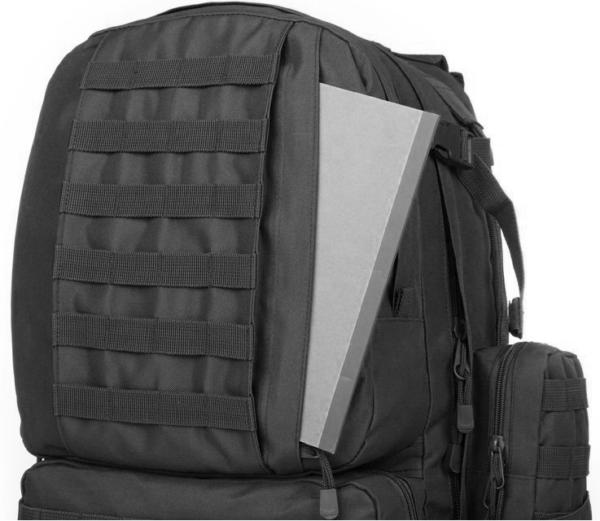 TTBP007LTBBLK Taktischer Outdoor Rucksack Fronttasche