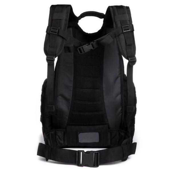TTBP246LPTBLK Tactical Laptop Trekkingrucksack Rücken