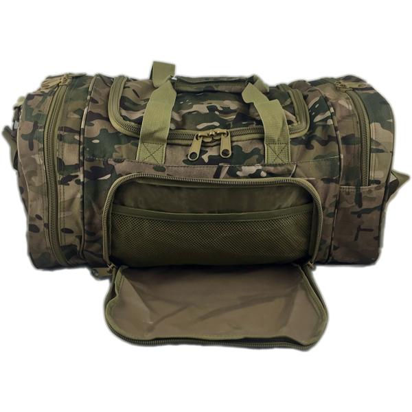 TTDB001CAM Camouflage Reisetasche Fronttasche
