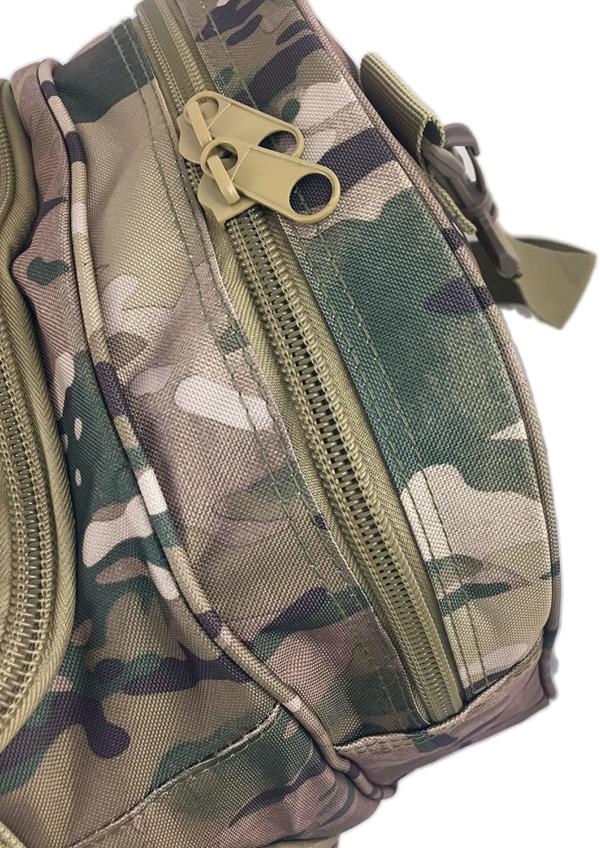 TTDB001CAM Camouflage Reisetasche Reissverschluss